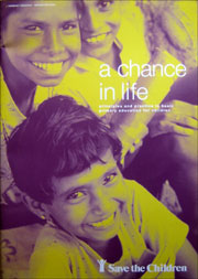A chance in life report cover